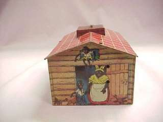1930s Jazzbo Jim Wind Up House by Unique Arts