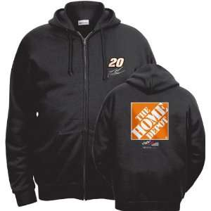 Tony Stewart 2 Hard 2 Catch Full Zip Hooded Sweatshirt