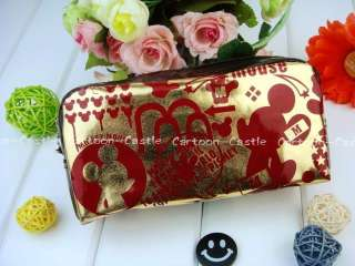 Mickey Mouse Cosmetic Bag Makeup Case Pouch 24614