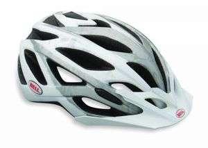 2012 Bell Sequence Matte White/Silver Helmet Size Med