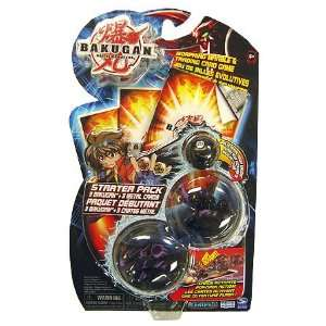 Bakugan Starter Pack Black Toys & Games