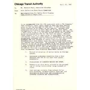 com Fare Structure Experiment Report Chicago Transit Authority. Fare