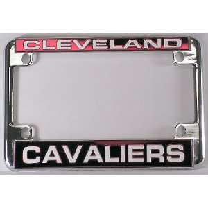 Cleveland Cavaliers Chrome Motorcycle RV License Plate