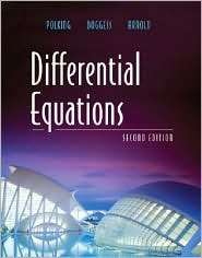 Differential Equations, (0131437380), John Polking, Textbooks   Barnes