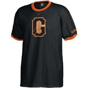 Nike San Francisco Giants Black Changeup Ringer T shirt