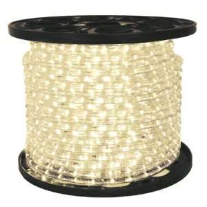 FlexTec CFL 15A LED Warm White Chasing Rope Light 1/2 in. 3 Wire 120