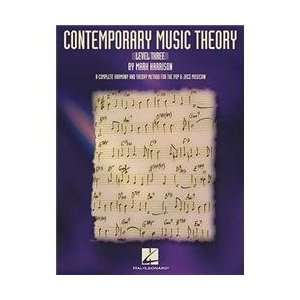 Contemporary Music Theory   Level Three Book Musical Instruments