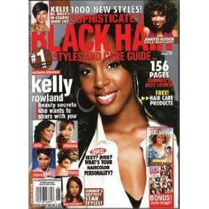 Black Sophisticates Hair Magazine