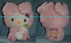 Japan 07 Hokkaido Only Hello Kitty Snow Bunny Plush Big