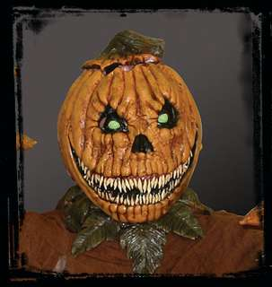 Evil Pumpkin Rot Jack O Lantern Halloween Mask Costume