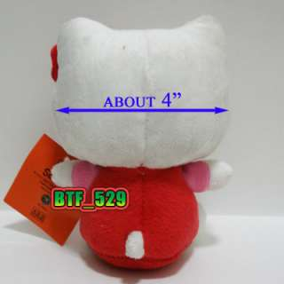 New Hello Kitty Plush Doll Figure Toy ( 6 Hello Kitty )
