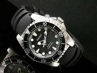 Seiko Mens Kinetic Scuba Divers Band 200m Watch Ska371 Ska371p2