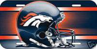 CAR/AUTO LICENSE PLATE DENVER BRONCOS NFL FOOTBALL