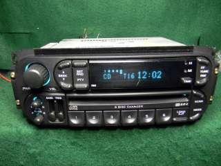 Chrysler Jeep Dodge Radio 6 CD changer 02 06 NEW mechanism