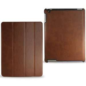 For Apple Ipad2 Fitting PU Leather case with Flip Stand Screen Cover