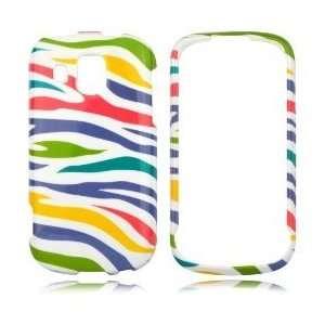 Sprint, Boost Mobile     Yellow White Red Blue Rainbow Zebra Phone