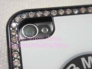 Car Logo Crystal Hard Case for Apple AT&T iPhone 4 USA SELLER