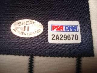 GARY SHEFFIELD AUTOGRAPHED HAND SIGNED BASEBALL JERSEY AUTO WITH PSA