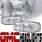 HEADLIGHTS HEADLAMP CLEAR CORNER 99 00 06 GMC YUKON/SIERRA/DENALI