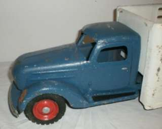 Vintage Custom Buddy L Delivery Truck 23 Long LOOK!