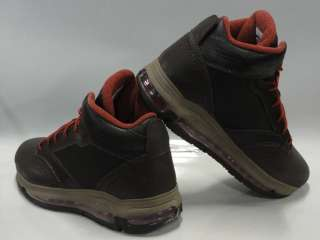 Nike Jordan City Max Trk Brown Orange Boots Shoes Mens Size 11