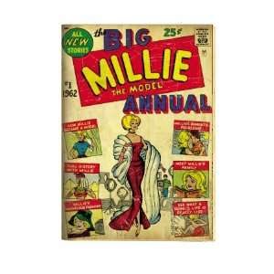 Marvel Comics Retro Millie the Model Comic Book Cover #1
