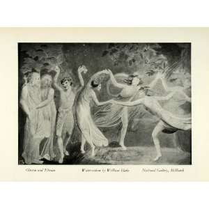 Midsummer Nights Dream   Original Halftone Print