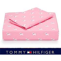 NEW Tommy Hilfiger Park Avenue SCOTTY DOG Sheets TWIN