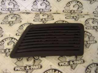 07 09 Ford Shelby Mustang GT500 Black LH Hood Scoop SVT