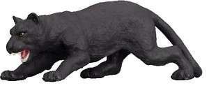 COLLECTA Wild Life BLACK PANTHER Cat Replica 88205 NEW