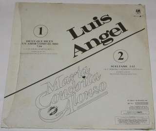 MARIA CONCHITA ALONSO   LUIS ANGEL   MAXI SINGLE 12