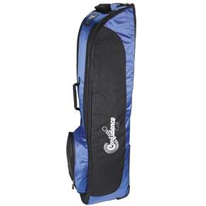 CONFIDENCE GOLF BAG TRAVEL COVER ROYAL BLUE w/WHEELS