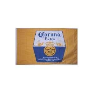 : NEOPlex 3 x 5 Corona Cerveza Mas Fina Beer Flag: Office Products