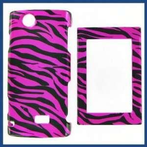 Sharp FX Zebra on Hot Pink Hot Pink/Black Protective Case