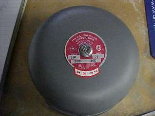 THE W.L. JENKINS CO. NEW FIRE ALARM BELL WITH GONG PN 2006 240V VV
