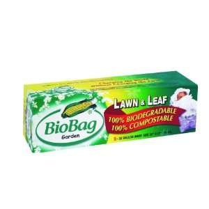 Lawn & Leaf Bio Bags 33 Gal, 5 per Box. This multi pack