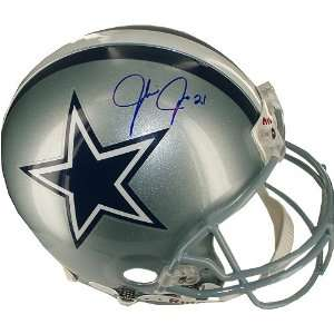 Julius Jones Autographed Cowboys Mini Helmet Sports
