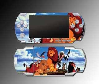 Lion King Simba Mufasa Scar Nala Game SKIN Sony PSP Playstation
