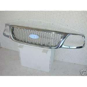 99 03 Ford F150/F250/Expedition Custom All Chrome Grille Automotive
