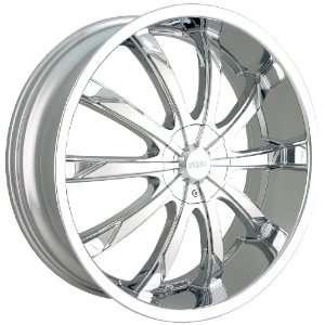 18 Inch 18x7.5 Dip wheels SLACK D66 Chrome wheels rims Automotive