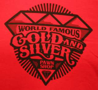 Red Diamond Gold and Silver PawnShop T Shirts