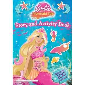 Barbie in a Mermaid Tale (Story & Activity Book): 9781405251488