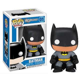 FUNKO POP HEROES DC UNIVERSE BATMAN LOGO ERROR YELLOW CIRCLE VINYL