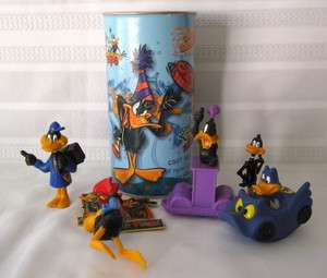 DafFy Duck Lot PVCs~Diecast~Magnet & Pin~Candy Can WB Looney Tunes
