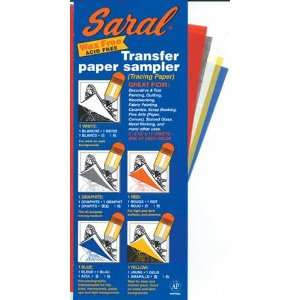 com Saral Transfer (Tracing) Paper 8 1/2 in. x 11 in. sheets transfer