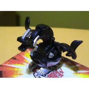 Bakugan Heavy Metal Black Darkus Iron Drago Dragonoid 910G (Sold Loose