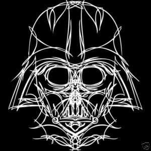 DARTH VADER LINE ART Star Wars Tee Shirt S M L XL XXL