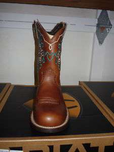 ARIAT RODEO BABY BOOTS   RUSSET REBEL   LADIES 8