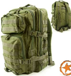 ARMY ASSAULT PACK, TACTICAL RUCKSACK, US ARMY MILITARY STYLE MOLLE