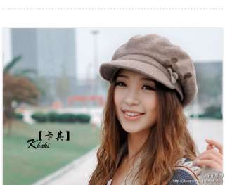Brand New Vintage Chic Women/Ladies Wool Fedora Hat 5 Colors Small